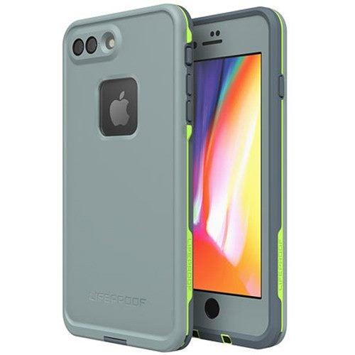 LifeProof Fre Apple iPhone 8 Plus   7 Plus Case - Grey Lime   Drop ... 7d92e781c