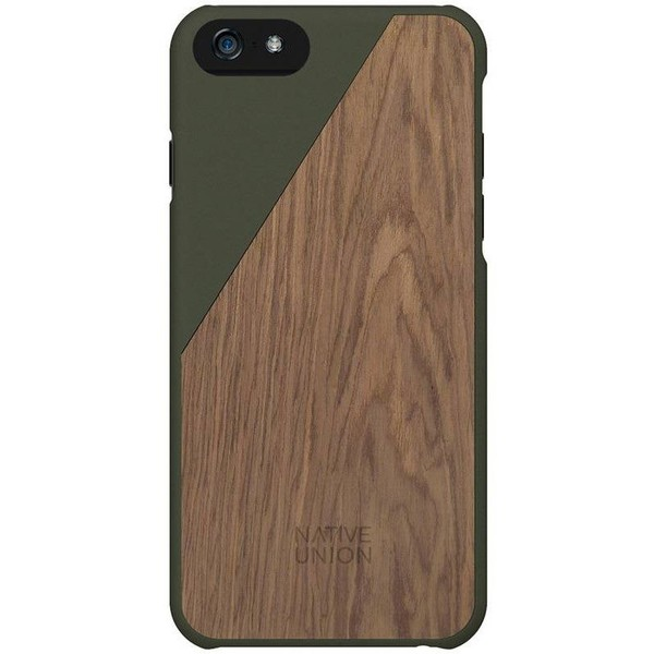 sale retailer 8aee3 bf2f7 NATIVE UNION CLIC PROTECTIVE CASE COVER (Color Olive/Walnut Wood; iPhone 6  Plus)