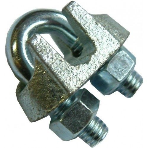 Wire Rope Grip Galv  - Standard 1/2 Inch