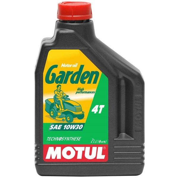 2 Litre Bottle Of Motul Garden 4T 10W30 Oil