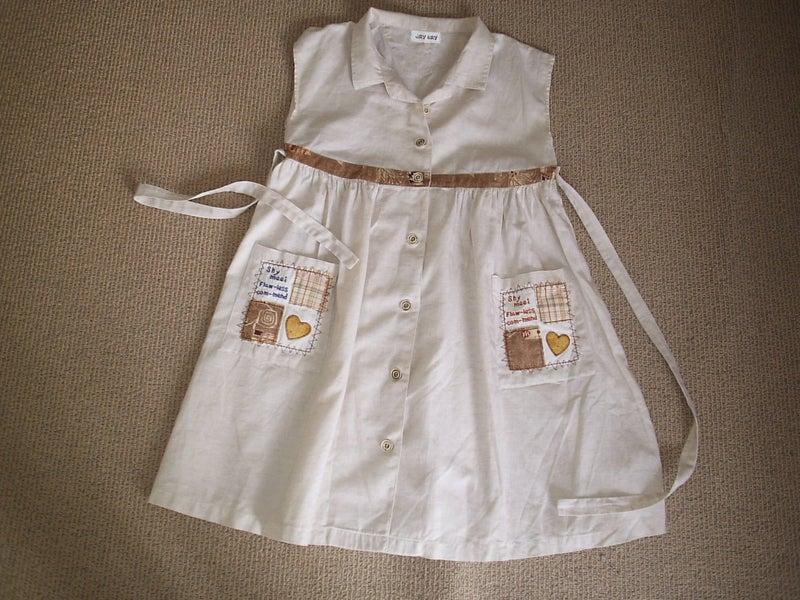 Lady Angel Free Shipping Short Beige Chiffon Bridesmaid: Girls Cotton Sleeveless Beige Dress (12 Years)