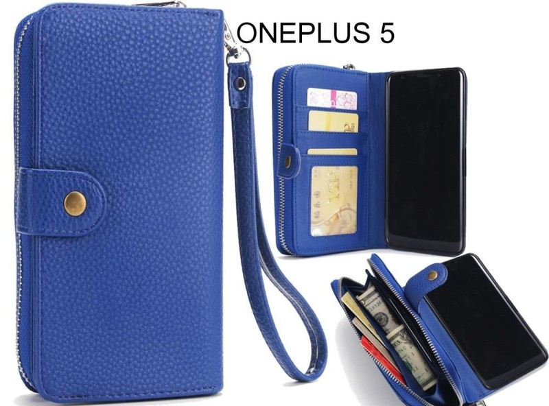 buy popular 6780b 9932d ONEPLUS 5 coin wallet case full wallet leather case