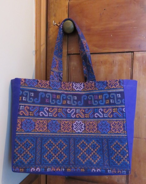A taste of Thailand made in NZ - tote bag - purple