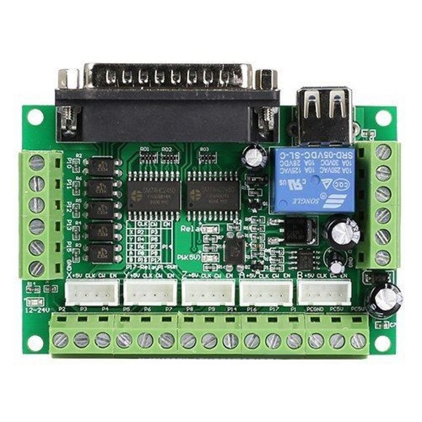 CNC Breakout Board for Mach3, Linux CNC or other Parallel Port Controller
