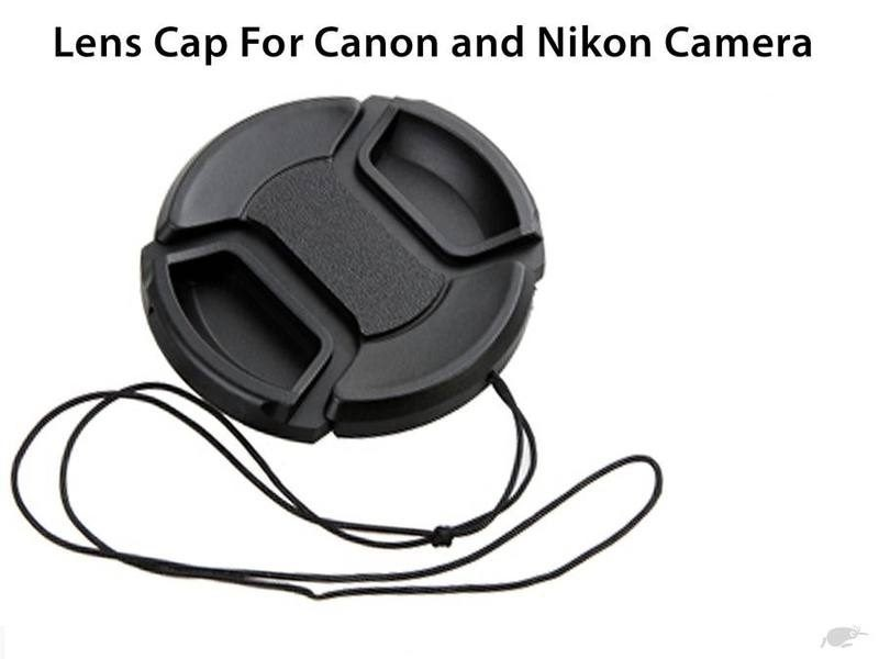 62mm Snap On Front Lens Cap For Canon Nikon