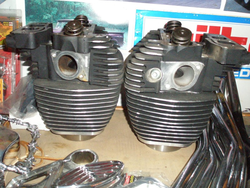 Harley twincam 88 heads and barrells | Trade Me