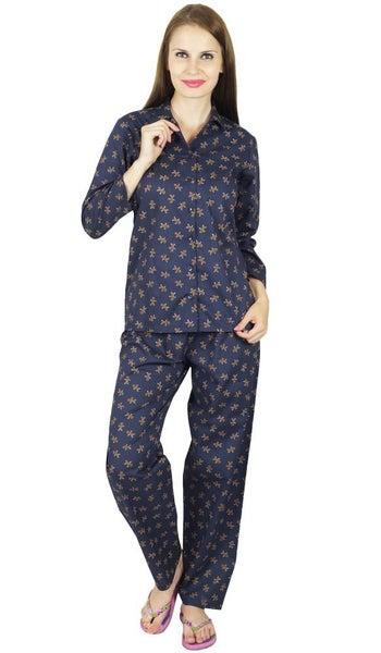 75787289d5 Bimba Cotton Night Wear Pajama Set Long Sleeve Shirt   Pyjamas ...