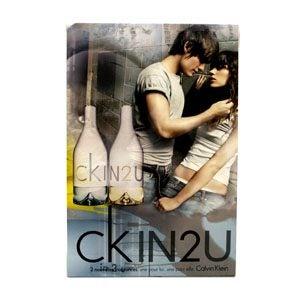 ckin2u calvin klein poster display trade me