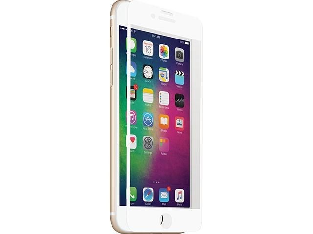 3SIXT Screen Protector Curved Glass (White) - iPh 8/7/6S/6
