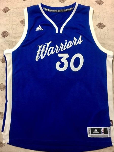 quality design a90e7 13286 Stephen Curry 2016 Christmas Day Jersey L Golden State Warriors