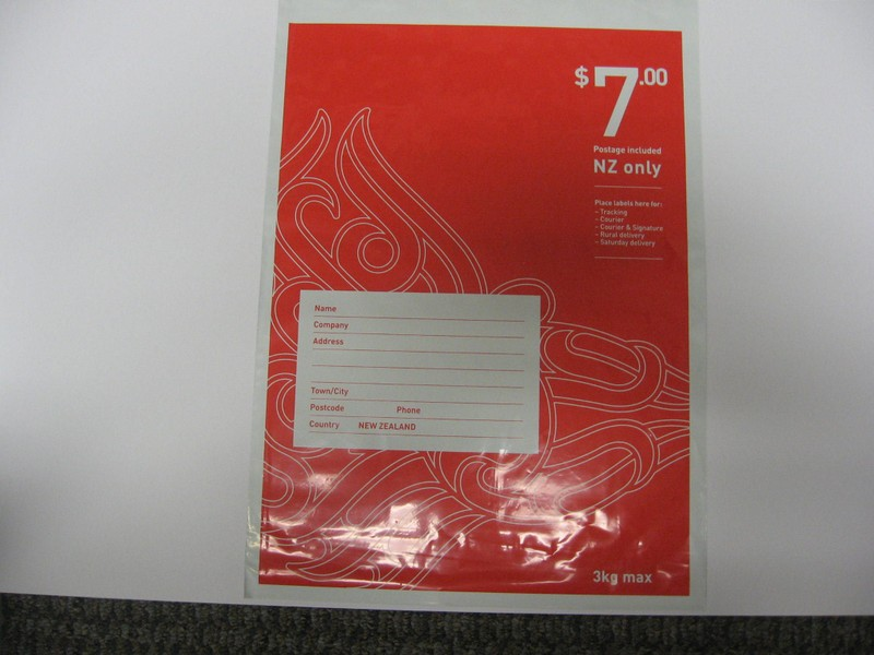 20% OFF!!! 30 x $7 00 (FS) Postage Included NZ Post Bags