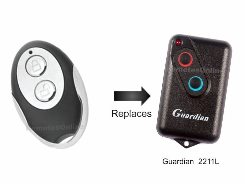 Guardian 21230 21230l Garage Door Remote Trade Me