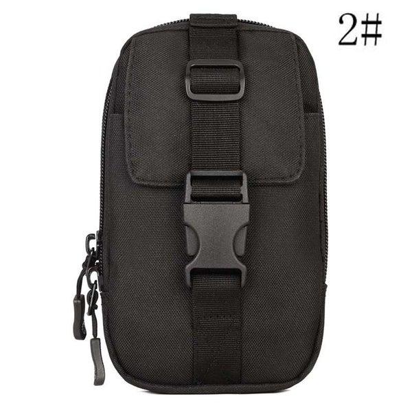 bd87851d3b Outdoor Hiking Wallet Pouch Purse Phone Bag Tactical Molle Waist Bag Chest  Pack