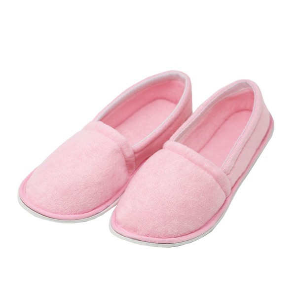 58352cddf84 Mens Terry Cloth Slippers Pink