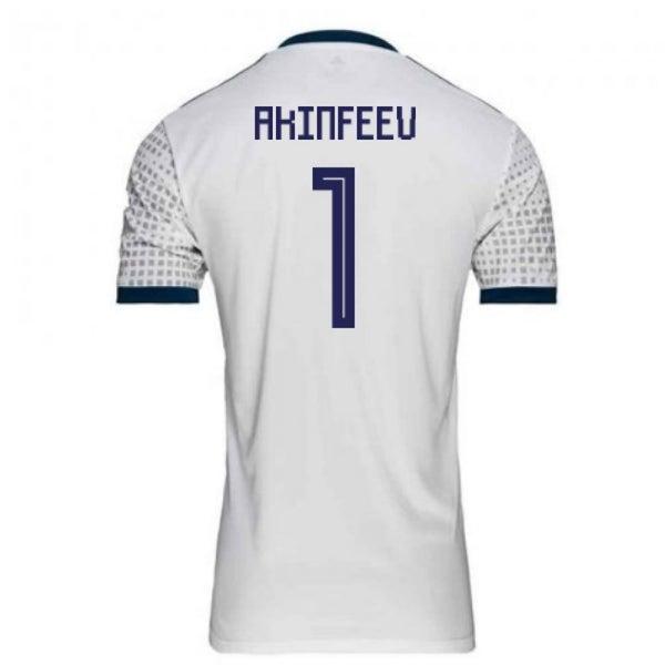 10da94daa64 2018-2019 Russia Away Adidas Football Shirt (Akinfeev 1) - Kids ...