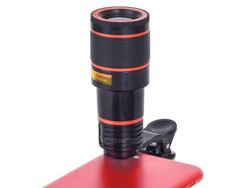 Mobilegear telescope zoom mobile camera lens with to x