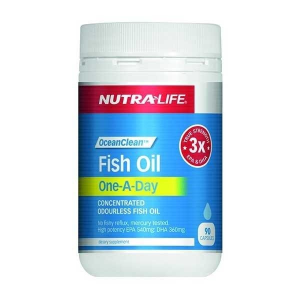 Nutra Life Fish Oil Ocean Clean One-A-Day 90s
