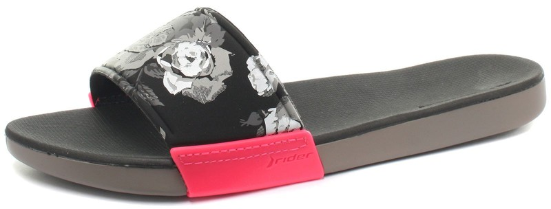 85e4974b787218 Rider Brasil RX Slide Grey Womens Slide Sandals