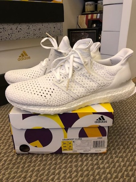 low priced 262ee dcea8 Brand new Adidas ultraboost clima triple white us 10.5