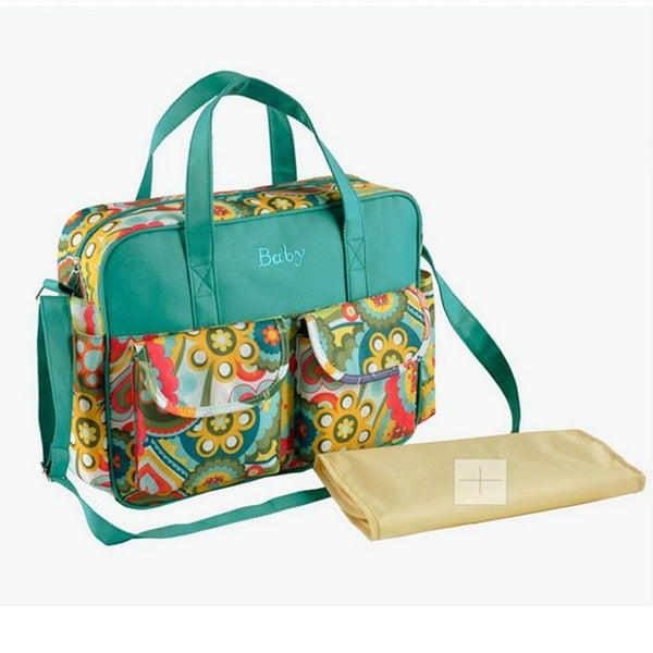 Diaper Bag Shoulder Handbag Maternity Mother Stroller Mummy Bag With Change  Pad  cae1ec50b0da7