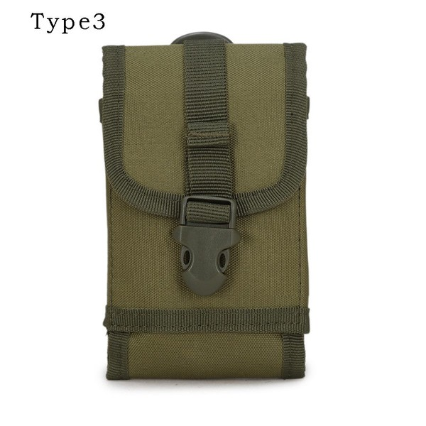 Useful Multifunction Outdoor Camping Hiking Tactical Phone Bag Men Camouflage Waist Bag Hook Loop Belt Pouch Oxford Cloth Mobile Case Low Price Sports & Entertainment Camping & Hiking