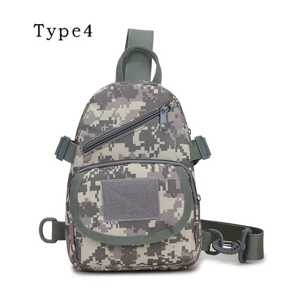 4724d5dcca0c Outdoor Sports Chest Bag Military Tactical Bag Camping Hiking Camp Shoulder  Bags