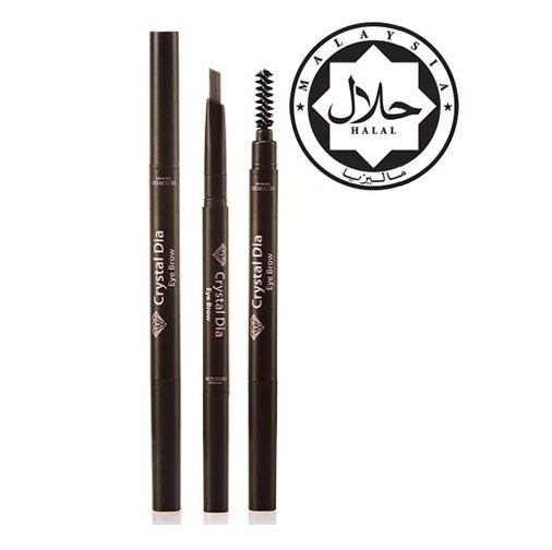 TALENT Crystal Dia Eye Brow 3 Color 0 2g / Halal Certificate