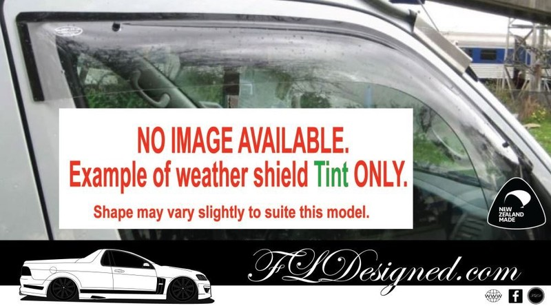 1996-98 Ford Courier PD - Monsoon Weather shields, guards