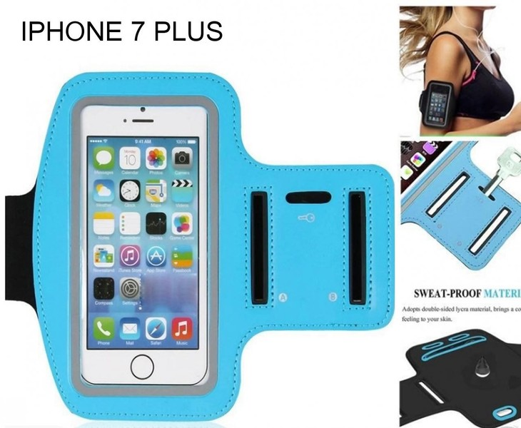 best website a44be 50a61 IPHONE 7 PLUS Armband Running Sports Gym Case