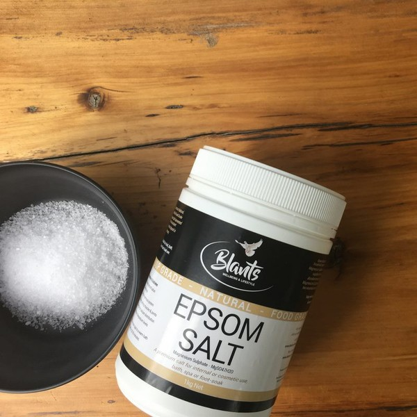 Epsom salt - Natural, Food Grade, 1kg