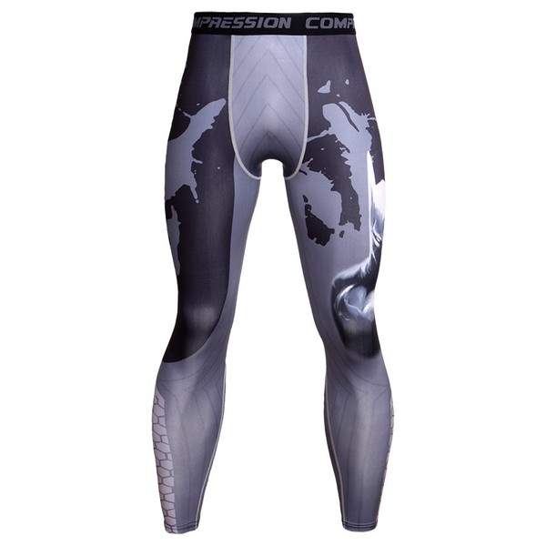 8733105d3c Men Compression Pants Quick Dry Sports Skinny Leggings Tights Gym Running  Pants | Trade Me