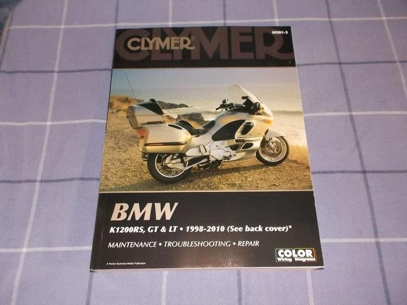 BMW K1200RS, GT & LT 1998-2010 Clymer Manual   Trade Me