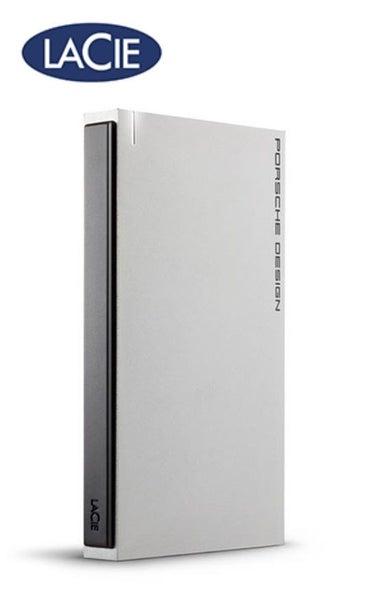 LaCie 9223 Porsche Design 1TB Portable HHD USB 3 0 - Light Grey