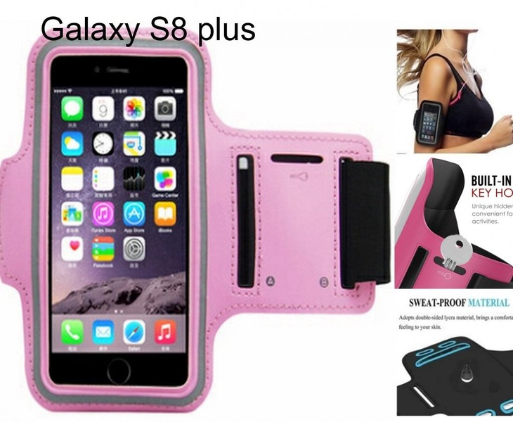 separation shoes 7337a 158f5 Galaxy S8 plus Armband Running Sports Gym Case
