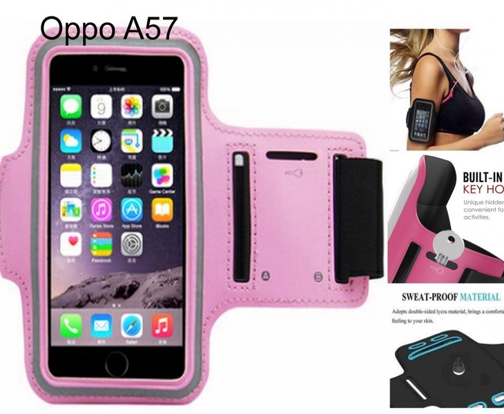 new arrival 9e6f5 c6021 Oppo A57 Armband Running Sports Gym Case