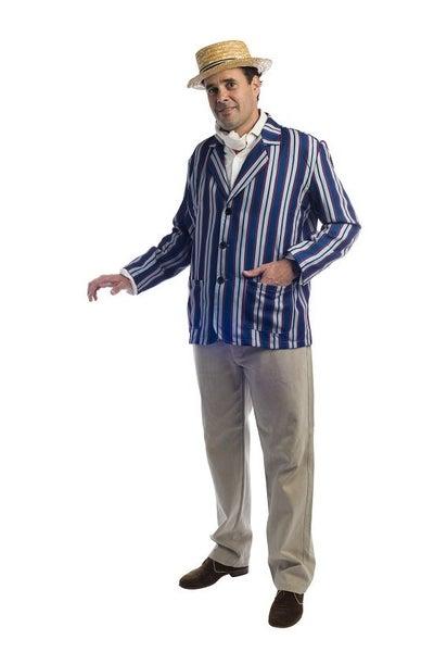 BARBER SHOP ROARING 20s BLAZER JACKET COSTUME