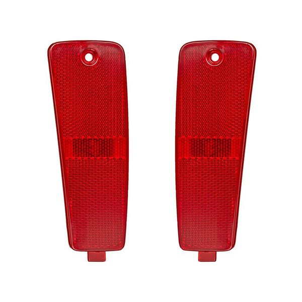 Side Marker For 2006-2011 Chevrolet HHR Rear Right Red With Bulb