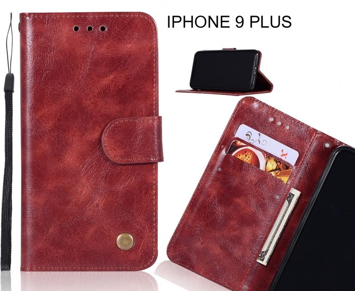 low cost ee068 119f1 IPHONE 9 PLUS case executive leather wallet case