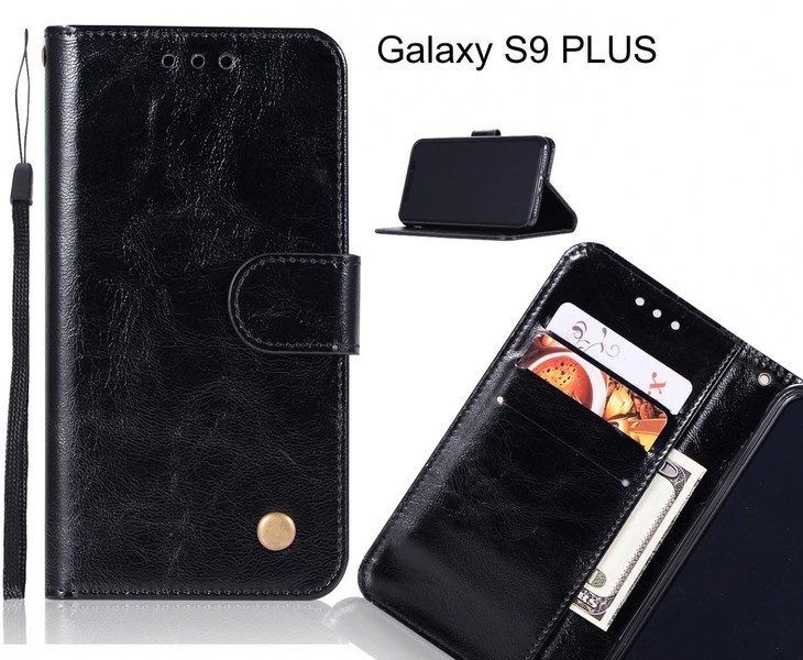 buy popular b5f88 1979f Galaxy S9 PLUS case executive leather wallet case