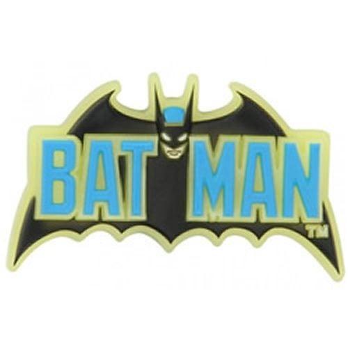 9a7fe4d18 Crocs Jibbitz - BAT Batman Logo GITD