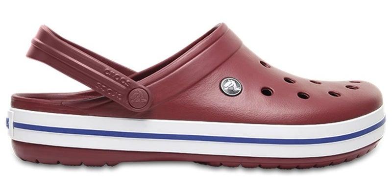 17e8b46d21462 Crocs Crocband Clogs - Garnet White