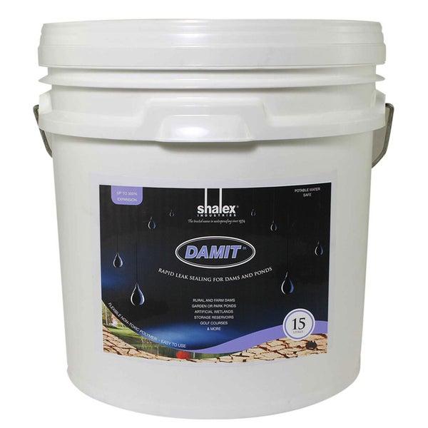 DamIt™ Dam Sealer 15L - Rapid Leak Sealing for Natural Earthen Dams and  Ponds