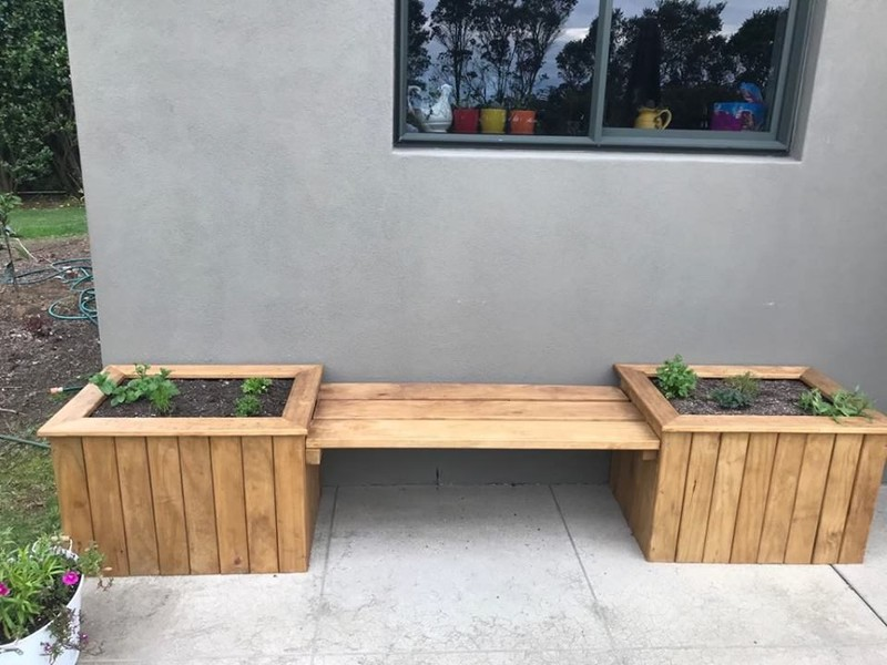 Super V5 Planter Box Bench Seat 2 7M Free Wellington Delivery Pabps2019 Chair Design Images Pabps2019Com