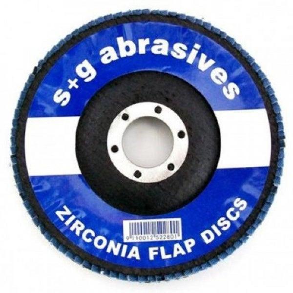 2 Pack Flap Sanding Disc 125mm x 22mm Z100