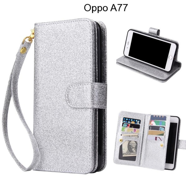 huge discount 1c658 f716d Oppo A77 Case Glaring Multifunction Wallet Leather Case