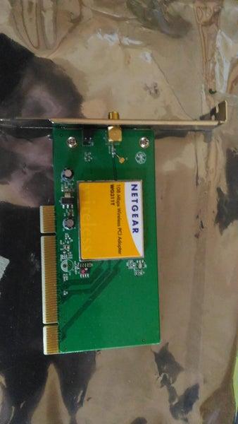 Netgear WG311T pci wireless card