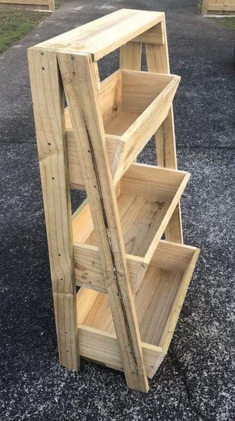 3 Tier Wooden Planter Box