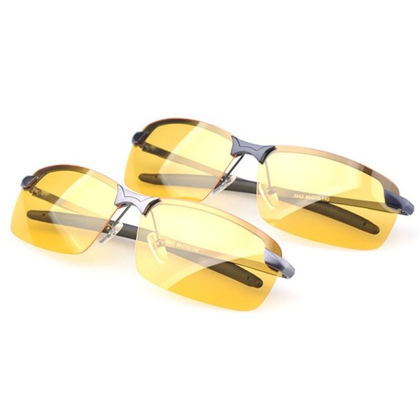 31b031482f Sport Cycling Driving Glasses Anti - Glare Sunglasses Night Vision Polarized  Gla