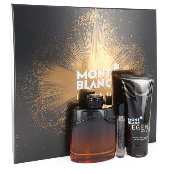 size 40 98b85 ee47a Montblanc Legend Night by Mont Blanc 100ml EDP Set ®    Trade Me