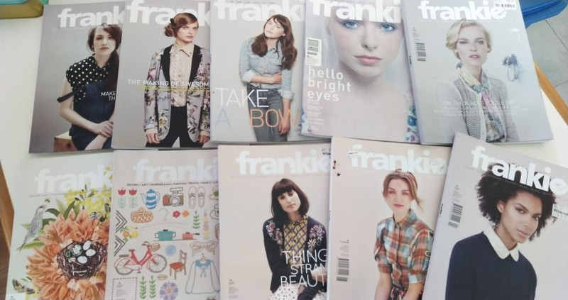 bulk Frankie Magazine 10 copies - may have missing pages